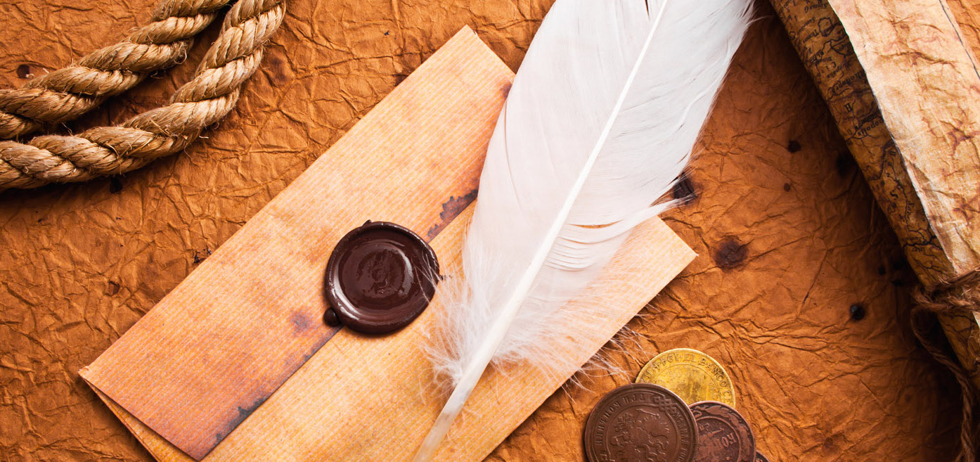 FreeGreatPicture.com-7749-stationery-and-quill-pen cropped